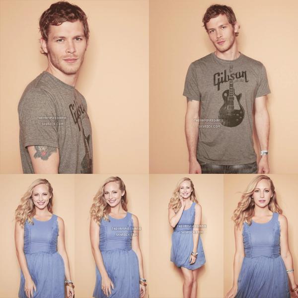 PHOTOSHOOT   Souvenez vous, lors du Comic Con de 2011, on avait eu une photo d'un shoot de Nina, Ian, Paul, Candice & Joseph réalisé pour TV Guide. Eh bien le shoot est maintenant disponible en intégralité !