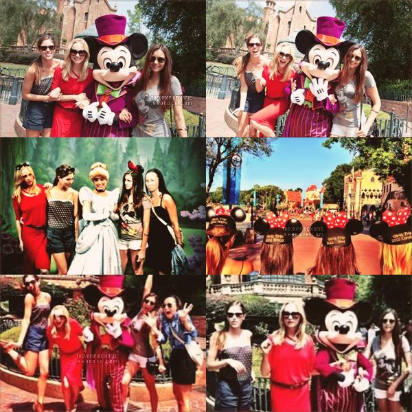 EVENT - 1er septembre 2012 | Nina, Candice & Kayla sont retombées en enfance le temps d'une journée, puisqu'elles se sont rendues à Disney World en Floride. Voici les jolies photos qu'elles partagent avec nous.