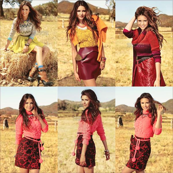 PHOTOSHOOT | Nina fait la couverture de Seventeen Magazine du mois d'octobre prochain. Magnifique !