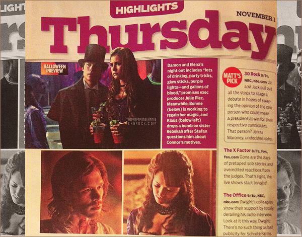 ON THE SET | Voici les premières photos provenant du tournage de l'épisode 4x09 avec Candice, Michael & Phoebe. On remarque par ailleurs que l'épisode aura lieu en période de Noël, au vu des décors. Alors, hâte ?