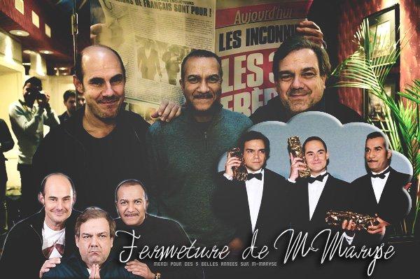 FERMETURE DE M-MARYSE