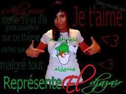 zaho et l'algérie