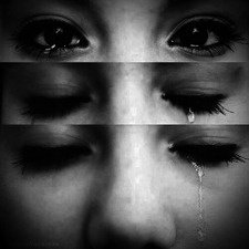 When I cry..