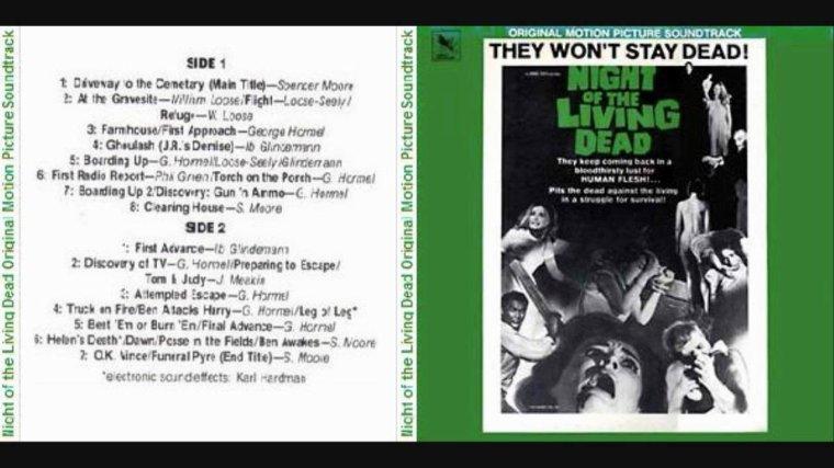 La nuit des morts-vivants soundtrack