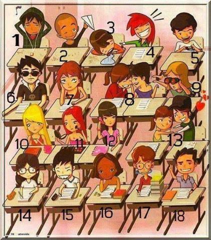 Vous êtes Comment En Classe ???? Dîtes Le En Commentaire ;)