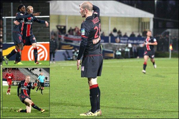 1/4 de Finale de La Coupe de la Ligue : Valenciennes 1-3 PSG