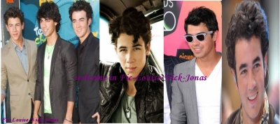 welcome of the Fic-Louise-Nick-Jonas