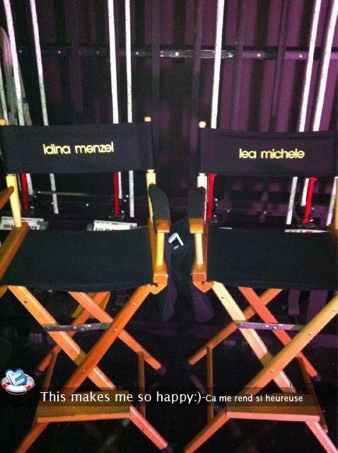 Twitter:Lea Michele a postée une nouvelle photo sur son twitter,le 24août.