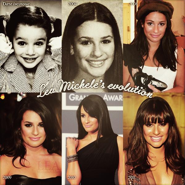 LEA MICHELE&GLEE:Lea Michele's Evolution.Quelsques infos sur Glee saison 3.