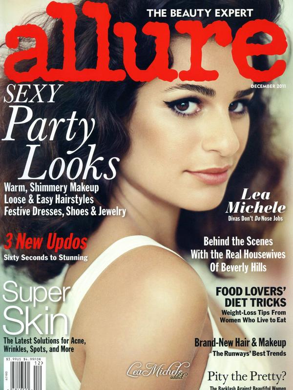 SCANS MAGAZINE: Découvrez maintenant les scans de ALLURE magazine dont Lea fait la couverture du mois de décembre !