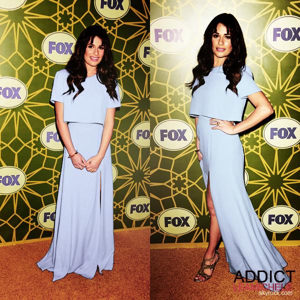 EVENEMENT:Lea était à la FOX All-Star Party, le 08 janvier 2012.
