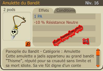 Succès :  1 PA Amu bandit fm pa ;) 4 runes :D