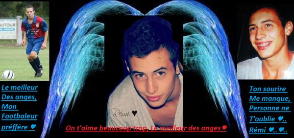 Tu est partit si vite rejoindre les anges que je n'est même pas eu le temps de te dire au revoir ♥..
