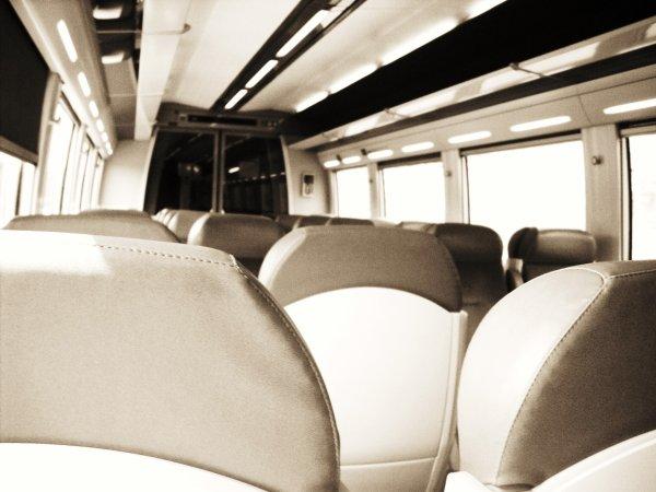 Celle qui été seule dans le train