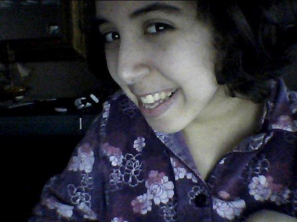 moi en pyjama