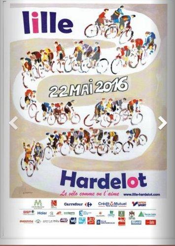 Lille - Hardelot (62)  159 km  dimanche 22 Mai 2016