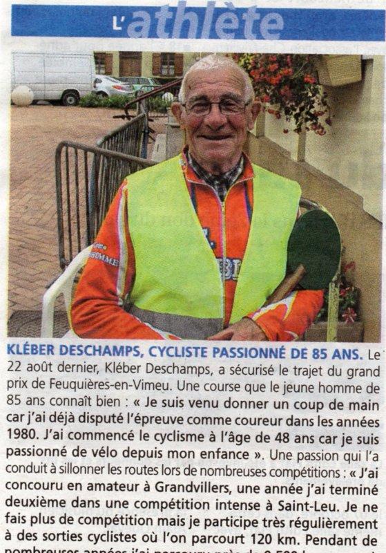 Deschamps Kléber   AAE St Blimont