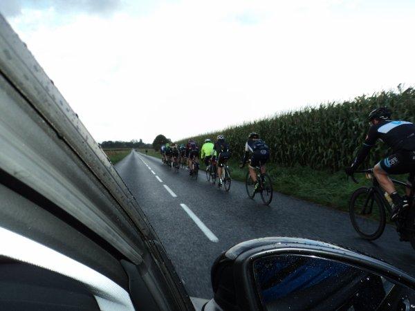 La Picarde  180 km  Abbeville - Eaucourt (80)  samedi 9 Septembre 2017