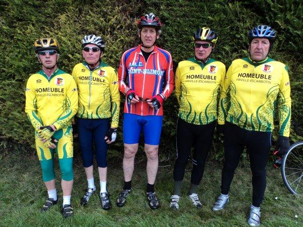 Sortie de la Section Cycliste de Feuquières en Vimeu (80) dimanche 13 Avril 2018