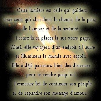 kikou mes amies que cette lumière brille à jamais dans notre coeur que la tendresse, l'amour y demeure à jamais ♥♥