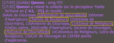 Percepteur qui drop Dofus Turquoise.