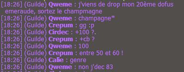 20e Dofus Emeraude, sortez le champagne !