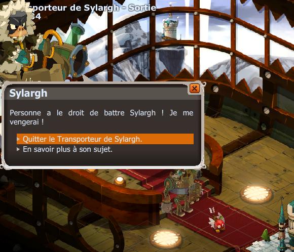 Sylargh est tombé de son vaisseau.