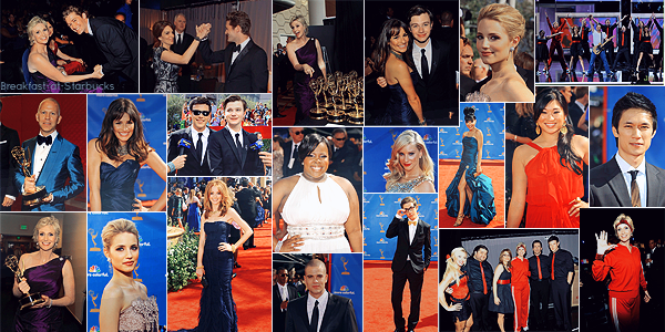 Glee @ 62th Annual Emmy Awards