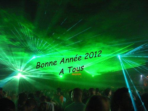 Bonne Année 2012 à Tous !