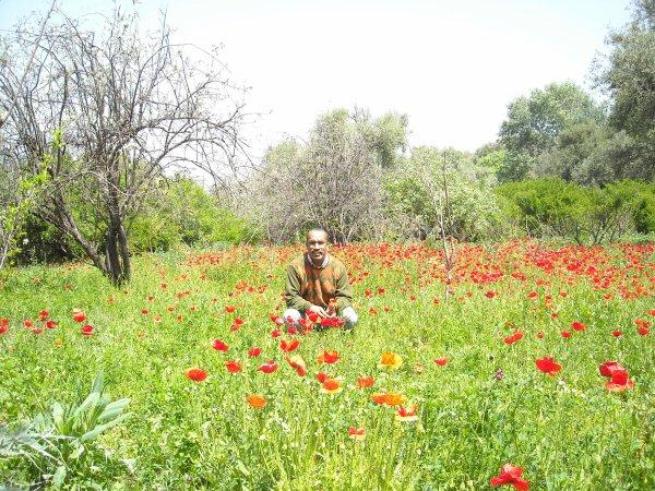 Moi méme en excursion à Tahanaout(30 km au sud de marrakech au piemont du grand atlas)