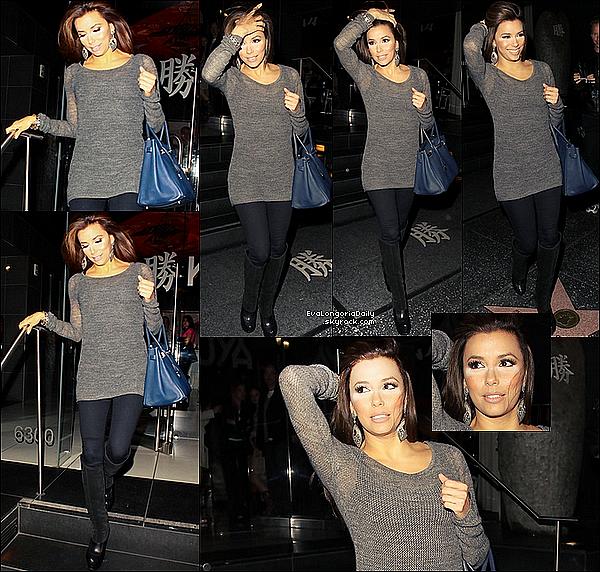 • o8 Janvier 2o11 •  - Las Vegas, Etats-Unis. 📷 Eva a posé pour un Photoshoot pour le « Delta Sky Magazine » dans son restaurant Beso.