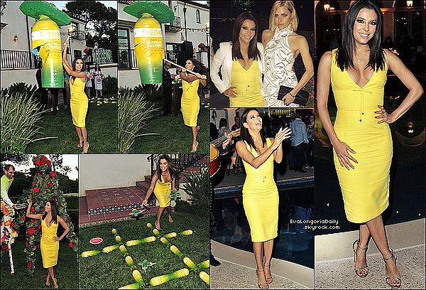 • 2o Juin 2o15 •  - Los Angeles, Etats-Unis. 🎤 Puis, Eva est allée à une « Réunion » pour la Fondation Eva Longoria.