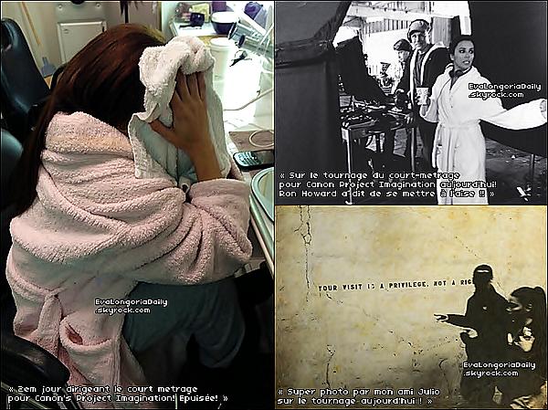 🍴 Eva est allée dîner au Chateau Marmont Restaurant. o9 Février 2013. West Hollywood - Etats-Unis. Tenue: Eva porte un Sac Hermès à 18500¤ & des Escarpins Christian Louboutin à 940¤.