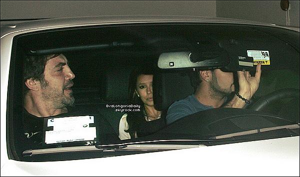 🍴 Eva & Eduardo sont allée dîner au Madeo Restaurant avec Penelope Cruz & Javier Bardem. 2o Avril 2o11, West Hollywood - Etats-Unis.