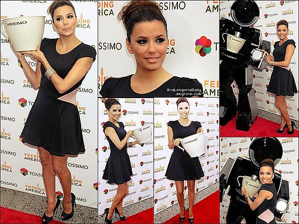 • o4 Mai 2o11 •  - Beverly Hills, Etats-Unis. 💇 Eva a été vue quittant le « Ken Paves Salon ».  Tenue: Lunettes Chanel à 33o¤ & Sac Salvatore Ferragamo à 545¤.