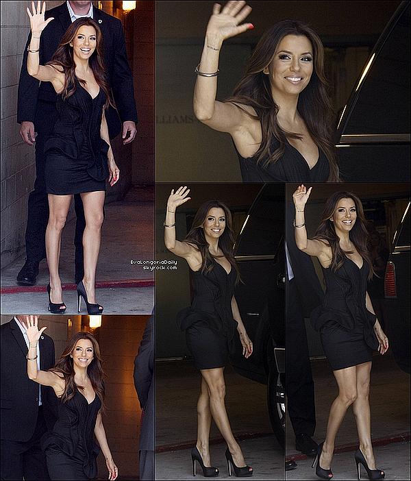 • o6 Mai 2o11 •  - Hollywood, Etats-Unis. 🍴 Le soir, Eva est allée dîner au « Beso Restaurant » en l'honneur d'une Fête pour Desperate Housewives.  Tenue: Escarpins Brian Atwood à 49o¤.