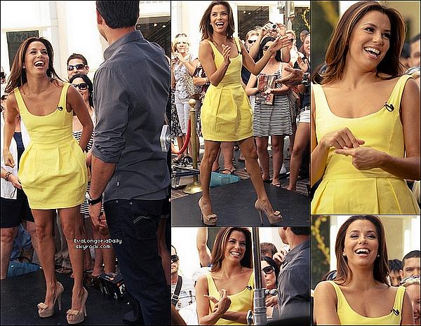 • 1o Septembre 2o11 •  - Santa Monica, Etats-Unis. ⭐ Puis, Eva est allée à l'After Party des « NCLR Alma Awards » qui avait lieu au « Sonoma Wine Garden ».