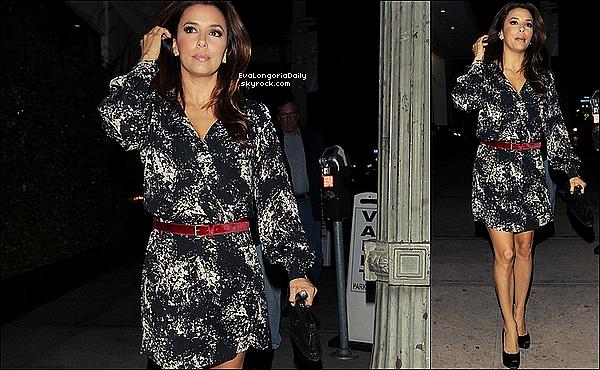 • 15 Octobre 2o11 •  - Las Vegas, Etats-Unis. ⭐ Ensuite, Eva est allée à l'After Party au « Nikki Club ».