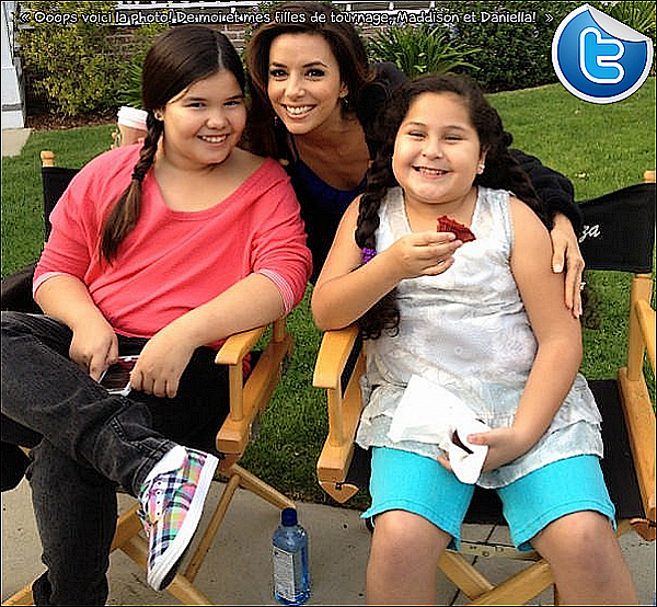 • o3 Avril 2o12 •  - Los Angeles, Etats-Unis. 🎥 Eva était sur le « Tournage de Desperate Housewives ».