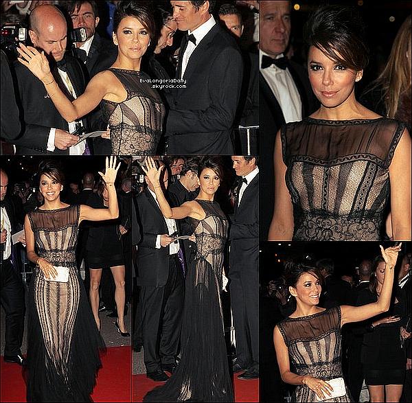 • 16 Mai 2o12 •  - Cannes, France. ⭐ Eva est allée à une fête de l'Oréal au « Orange Beach ».  Tenue: Robe Emilio Pucci, Pochette Coach & Escarpins Brian Atwood.