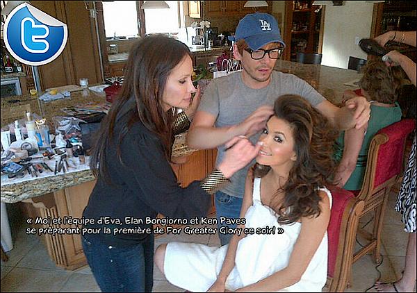 • Juillet 2o12 •  - Etats-Unis. 📷 Eva fait la Couverture de « Glamour Magazine ».