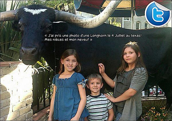• o5 Juillet 2o12 •  - Los Angeles, Etats-Unis. 📷 Eva a posté une photo d'Elle & George Lopez « Photoshoot ».