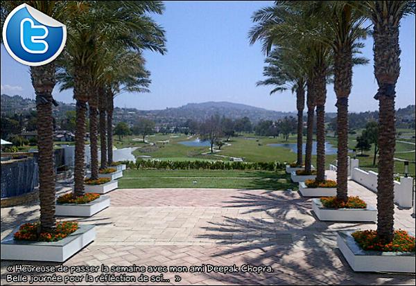• o6 Août 2o12 •  - Los Angeles, Etats-Unis. 📷 Eva a décidé de passer quelques jours « Chez son Ami Deepak Chopra ».
