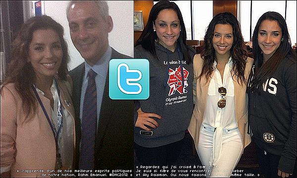 ✴️ Eva était à l'Evènement Your Life Your Time Your Vote. o5 Septembre 2012. Charlotte - Etats-Unis.