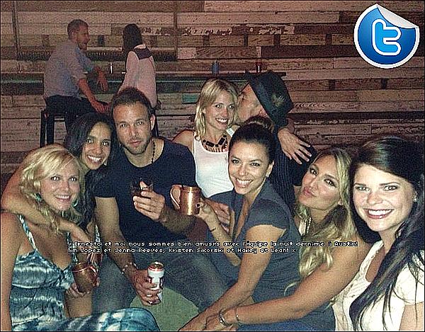 • o8 Juillet 2o13 •  - Paris, France. 🍴 Eva & Serena Williams sont allées « Dîner au Restaurant ».