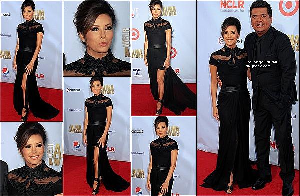 ✴️ Eva est allée au 2012 NCLR ALMA Awards qui avait lieu au Pasadena Civic Auditorium. 16 Septembre 2012. Pasadena - Etats-Unis.
