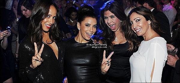 • 29 Septembre 2o12 •  - Las Vegas, Etats-Unis. ⭐ Ensuite, Eva est allée à l'After-Party au « TAO Nightclub ».  Tenue: Pochette Swarovski & Escarpins Brian Atwood à 7oo¤.