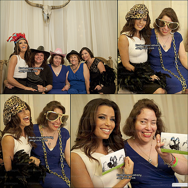 • o6 Octobre 2o12 •  - San Antonio, Etats-Unis. ⭐ Eva & sa famille sont allés au « Eva's Heroes Gala » qui avait lieu au « Celebrity Casino Night ».