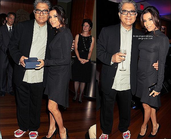✴️ Eva est allée au Nine Rivers Gala  qui se déroulait au Rubin Museum. 16 Octobre 2012. New-York - Etats-Unis. Tenue: Eva porte des Escarpins Jimmy Choo.