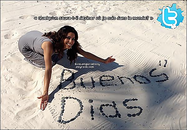 • 11 Novembre 2o12 •  - Puerto Vallarta, Mexique. 📷 Eva a posté une « Photo d'Elle ».